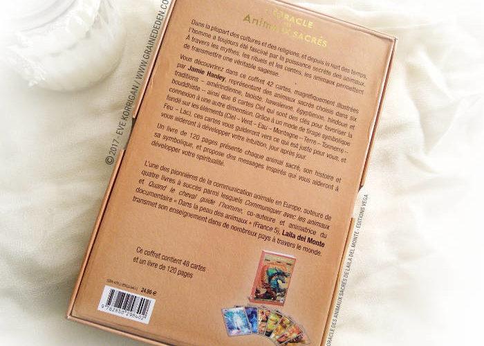 L'Oracle des Animaux Sacrés de Laila Del Monte - Graine d'Eden Développement personnel, spiritualité, tarots et oracles divinatoires, Bibliothèques des Oracles, avis, présentation, review , revue
