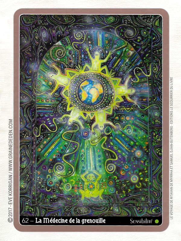 Le Voyage de Ritavan Cartes Oracle de Myrrha et Samuel Djian-Gutenberg - Graine d'Eden Développement personnel, spiritualité, tarots et oracles divinatoires, Bibliothèques des Oracles, avis, présentation, review , revue
