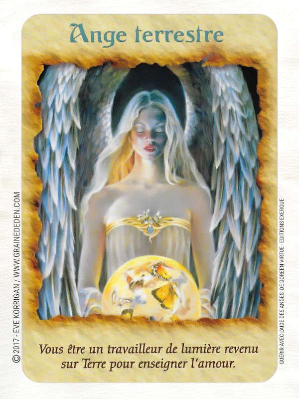 Guérir avec l'Aide des Anges Cartes Oracle de Doreen Virtue - Graine d'Eden Développement personnel, spiritualité, tarots et oracles divinatoires, Bibliothèques des Oracles, avis, présentation, review , revue