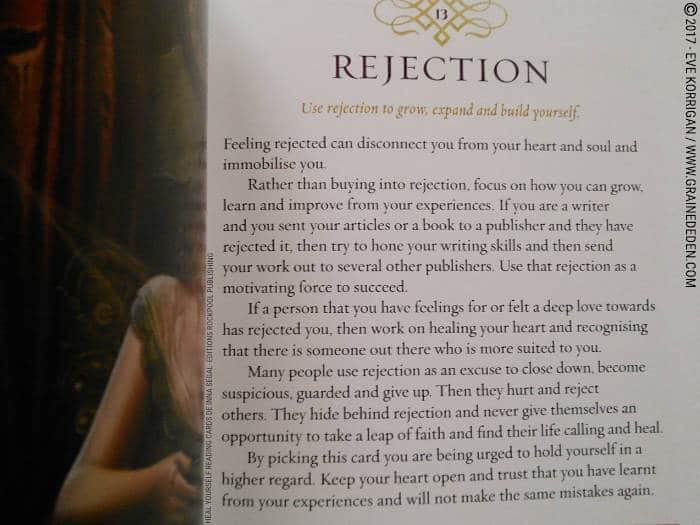 Heal Yourself Reading Cards de Inna Segal - Graine d'Eden Développement personnel, spiritualité, tarots et oracles divinatoires, Bibliothèques des Oracles, avis, présentation, review , revue