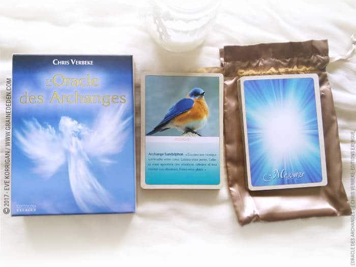 L'Oracle des Archanges de Chris Verbeke - Graine d'Eden Développement personnel, spiritualité, tarots et oracles divinatoires, Bibliothèques des Oracles, avis, présentation, review , revue