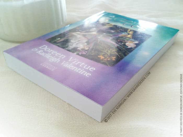 Le Tarot des Fées de Doreen Virtue et Radleigh Valentine- Graine d'Eden Développement personnel, spiritualité, tarots et oracles divinatoires, Bibliothèques des Tarots, avis, présentation, review , revue