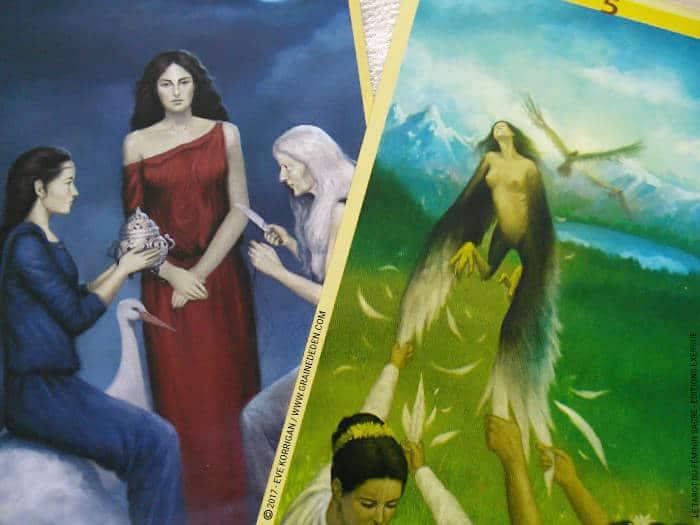 Le Tarot du Féminin Sacré de Floreana Nativo - Graine d'Eden Développement personnel, spiritualité, tarots et oracles divinatoires, Bibliothèques des Tarots, avis, présentation, review , revue
