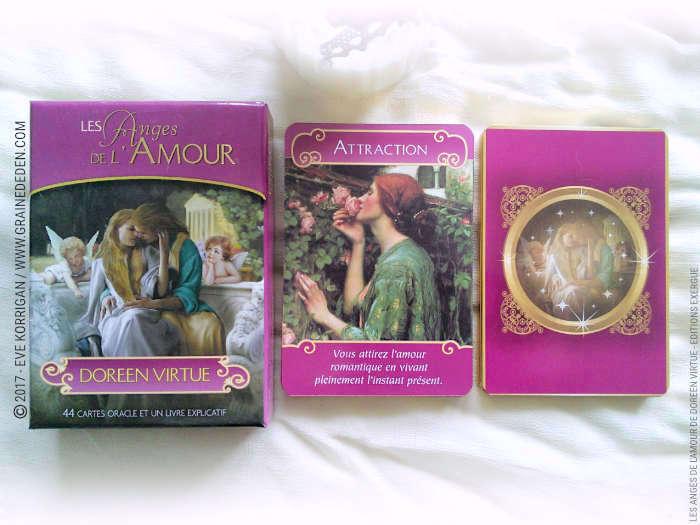 Les Anges de l Amour Cartes Oracle de Doreen Virtue - Graine d Eden ea08ec883010