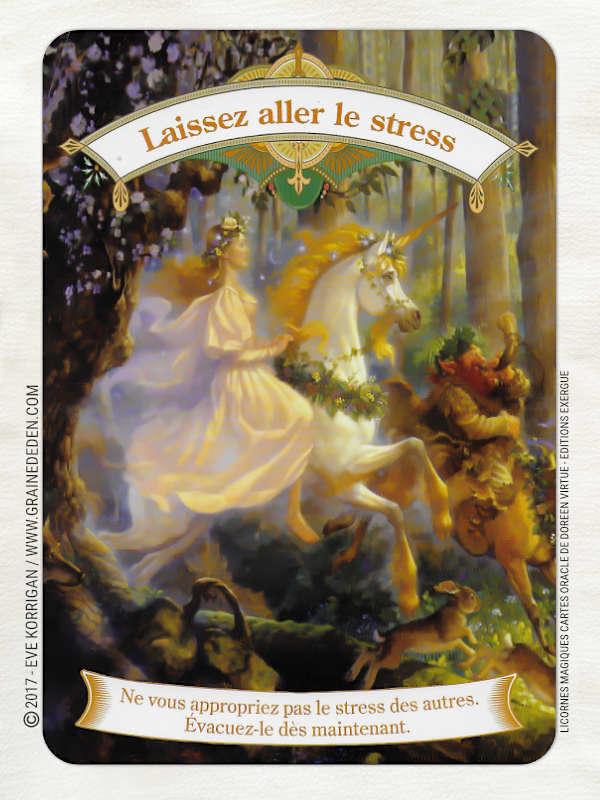 Licornes Magiques Cartes Oracle de Doreen Virtue - Graine d'Eden Développement personnel, spiritualité, tarots et oracles divinatoires, Bibliothèques des Oracles, avis, présentation, review , revue