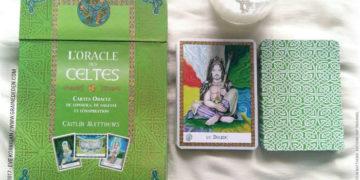 L'Oracle des Celtes de Caitlin Matthews - Graine d'Eden Développement personnel, spiritualité, tarots et oracles divinatoires, Bibliothèques des Oracles, avis, présentation, review , revue
