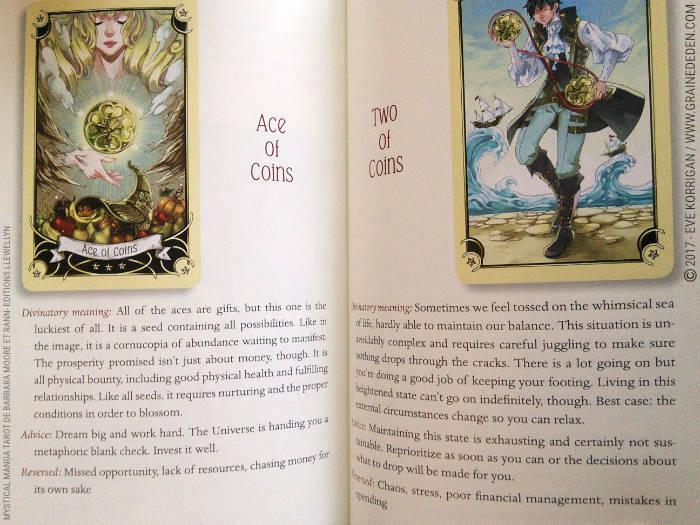 Graine d'Eden Développement personnel, spiritualité, tarots et oracles divinatoires, Bibliothèques des Tarots, avis, présentation, review, revue