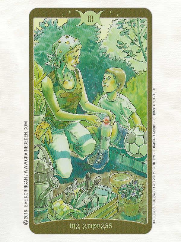 The Book of Shadows Tarot Vol 2 So Below de Barbara Moore - Graine d'Eden Développement personnel, spiritualité, tarots et oracles divinatoires, Bibliothèques des Tarots, avis, présentation, review, revue
