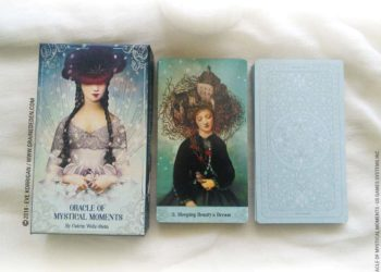 Oracle of Mystical Moments de Catrin Welz-Stein - Graine d'Eden Développement personnel, spiritualité, tarots et oracles divinatoires, Bibliothèques des Oracles, avis, présentation, review , revue
