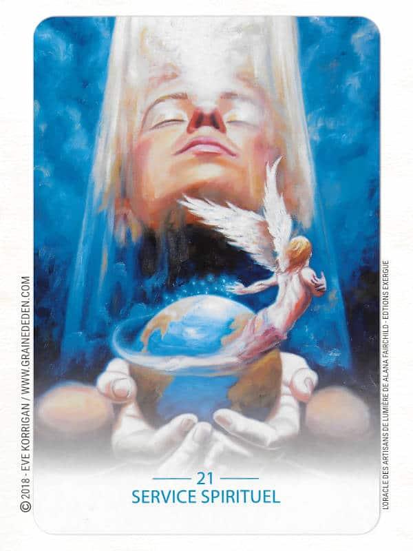 L'Oracle des Artisans de Lumière de Alana Fairchild et Mario Dugay Review - Graine d'Eden Développement personnel, spiritualité, tarots et oracles divinatoires, Bibliothèques des Oracles, avis, présentation, review tarot oracle , revue tarot oracle