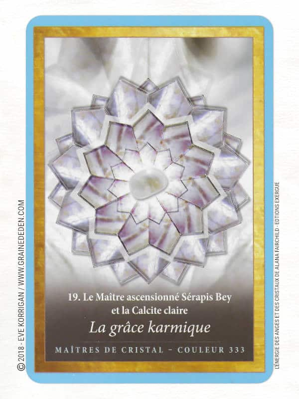 L'énergie des Anges et des Cristaux Cartes Oracle