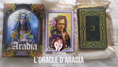 Review de L'Oracle d'Aradia version fr (Présentation Video) Review Video - Graine d'Eden Développement personnel, spiritualité, tarots et oracles divinatoires, Bibliothèques des Oracles, avis, présentation, review tarot oracle , revue tarot oracle