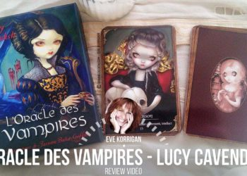 Review L'Oracle des Vampires de Lucy Cavendish (Présentation Video) Review Video - Graine d'Eden Développement personnel, spiritualité, tarots et oracles divinatoires, Bibliothèques des Oracles, avis, présentation, review tarot oracle , revue tarot oracle