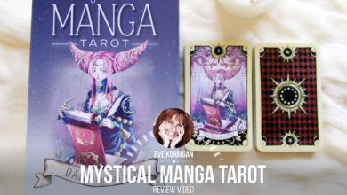 Review Mystical Manga Tarot de Barbara Moore (Présentation Video) Review Video - Graine d'Eden Développement personnel, spiritualité, tarots et oracles divinatoires, Bibliothèques des Oracles, avis, présentation, review tarot oracle , revue tarot oracle