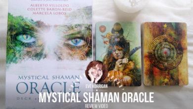 Review Mystical Shaman Oracle Cards Review Video - Graine d'Eden Développement personnel, spiritualité, tarots et oracles divinatoires, Bibliothèques des Oracles, avis, présentation, review tarot oracle , revue tarot oracle