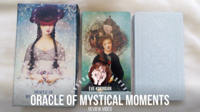 Oracle of Mystical Moments (Présentation Video) Review Video - Graine d'Eden Développement personnel, spiritualité, tarots et oracles divinatoires, Bibliothèques des Oracles, avis, présentation, review tarot oracle , revue tarot oracle