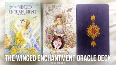 Review The Winged Enchantment Oracle (Présentation Video) Review Video - Graine d'Eden Développement personnel, spiritualité, tarots et oracles divinatoires, Bibliothèques des Oracles, avis, présentation, review tarot oracle , revue tarot oracle