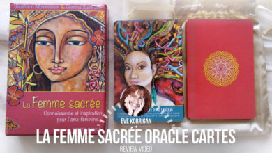 Review Cartes Oracle La Femme Sacrée (Présentation Video) Review Video - Graine d'Eden Développement personnel, spiritualité, tarots et oracles divinatoires, Bibliothèques des Oracles, avis, présentation, review tarot oracle , revue tarot oracle