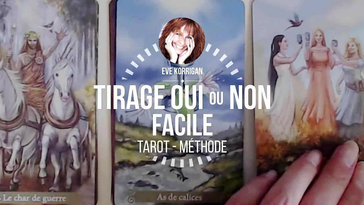 Apprendre le Tarot - Méthode de Tirage OUI ou NON Facile (Cours Video) 88645b656d3c