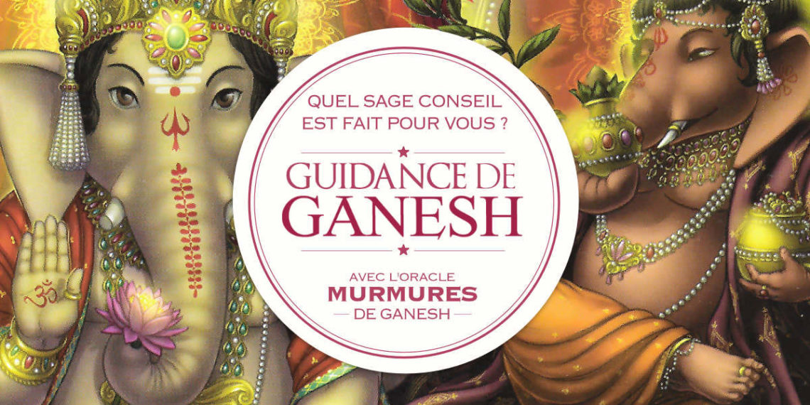 Guidance de Ganesh - Quel sera votre message ? avec l'Oracle Murmures de Ganesh de Angela Hartfield - Graine d'Eden Développement personnel, spiritualité, tarots et oracles divinatoires, Bibliothèques des Oracles, avis, présentation, review tarot oracle , revue tarot oracle