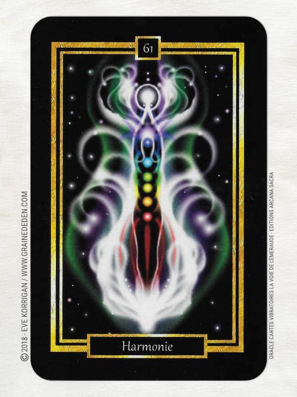 La Voie de l'Emeraude Oracle Cartes