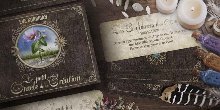 Le Petit Oracle de la Création Eve Korrigan - Découvrez Le Petit Oracle de la Création de Eve Korrigan - Ouvrez ce coffret et laissez-vous guider par ses Messagers pour semer vos plus belles graines et créer des expériences fidèles à vos rêves - Graine d'Eden Développement personnel, spiritualité, tarots et oracles divinatoires, Bibliothèques des Oracles, avis, présentation, review tarot oracle , revue tarot oracle