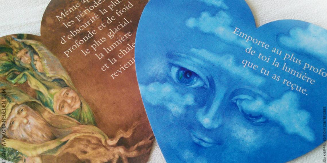 L'Oracle des Elfes de Claudia Knüppel - Graine d'Eden Développement personnel, spiritualité, tarots et oracles divinatoires, Bibliothèques des Oracles, avis, présentation, review , revue