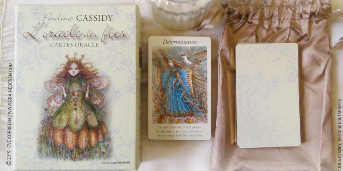 L'Oracle des Fées de Paulina Cassidy Review - Graine d'Eden Développement personnel, spiritualité, tarots et oracles divinatoires, Bibliothèques des Oracles, avis, présentation, review , revue