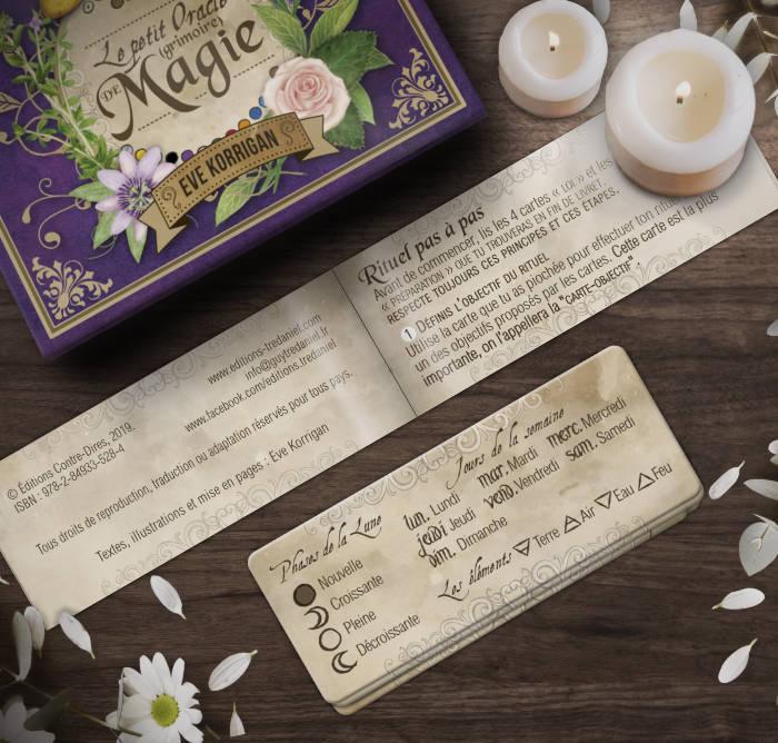 Le Petit Oracle Grimoire de Magie Eve Korrigan