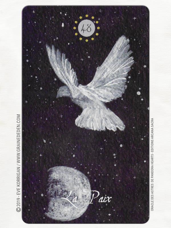 Oracle des Astres de Pandora Hearts review - Graine d'Eden Développement personnel, spiritualité, tarots et oracles cartes divinatoires, Bibliothèques des Oracles, avis, présentation, review , revue