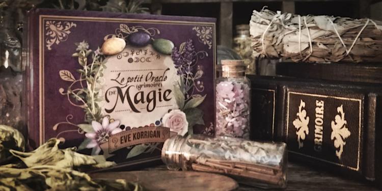Rituels avec Le Petit Oracle Grimoire de Magie - Perfectionner sa pratique magique - Magie - Lois - Préparation - Purification - Consécration - Objectifs des cartes etc..