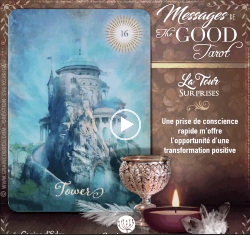 Messages de The Good Tarot