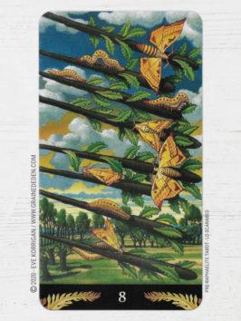 Pre-Raphaelite Tarot de Giuliano Costa - Graine d'Eden Développement personnel, spiritualité, tarots et oracles divinatoires, Bibliothèques des Oracles, avis, présentation, review tarot oracle , revue tarot oracle