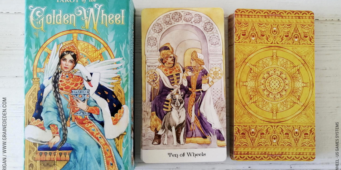 Tarot of the Golden Wheel de Mile Losenko