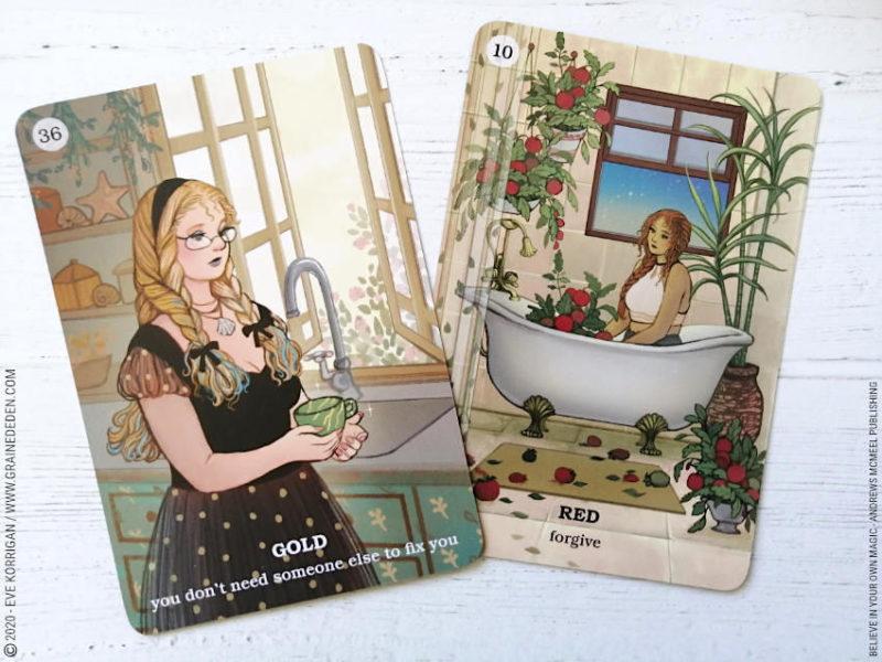 Believe in your own Magic Oracle deck de Amanda Lovelace