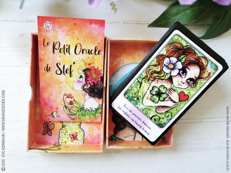 Le Petit Oracle de Stef de Stéphanie Gras