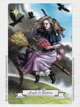 L' Oracle Histoires de Sorcières de Deborah Blake et Elisabeth Alba