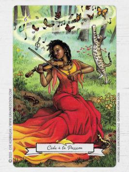 Oracle Histoires de Sorcières de Deborah Blake et Elisabeth Alba
