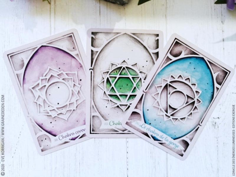 Oracle des énergies Lumineuses de Alicia Molet