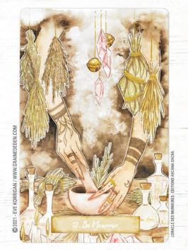 Oracle des Murmures de Marie de Lubyloon et Ash Coloured