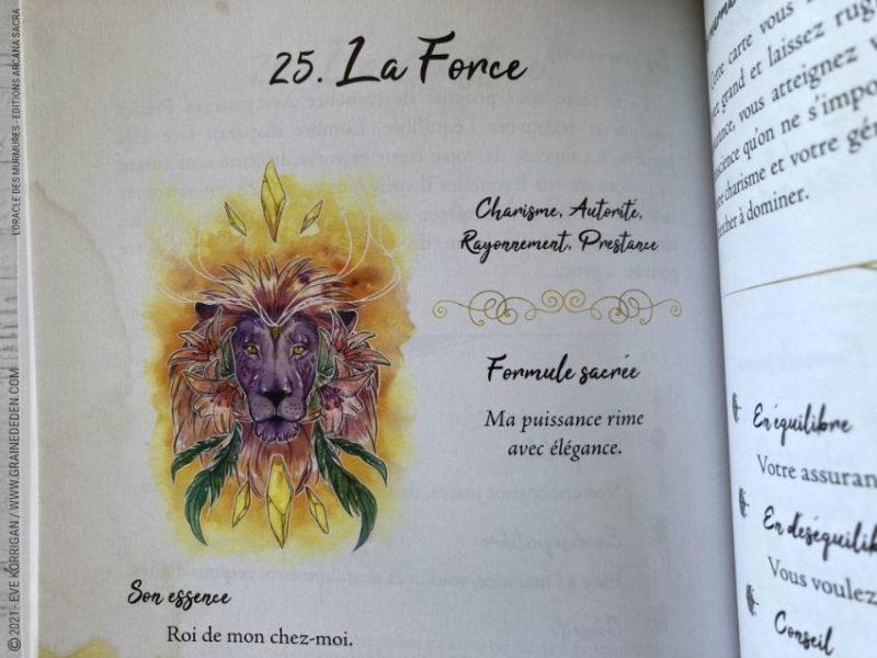 L' Oracle des Murmures de Marie de Lubyloon et Ash Coloured
